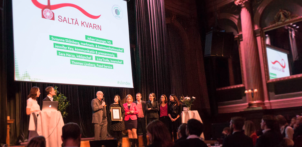 Saltå Kvarn vinner Sveriges mest hållbara varumärke