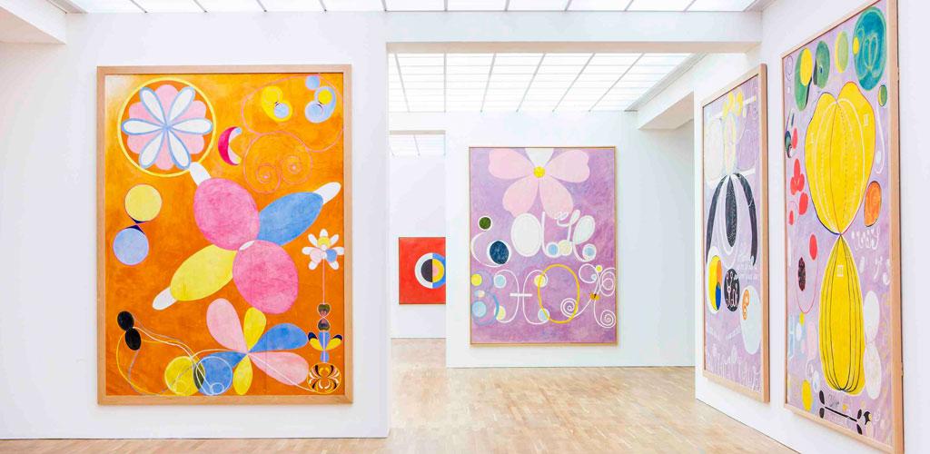 Bild från en tidigare utställning.