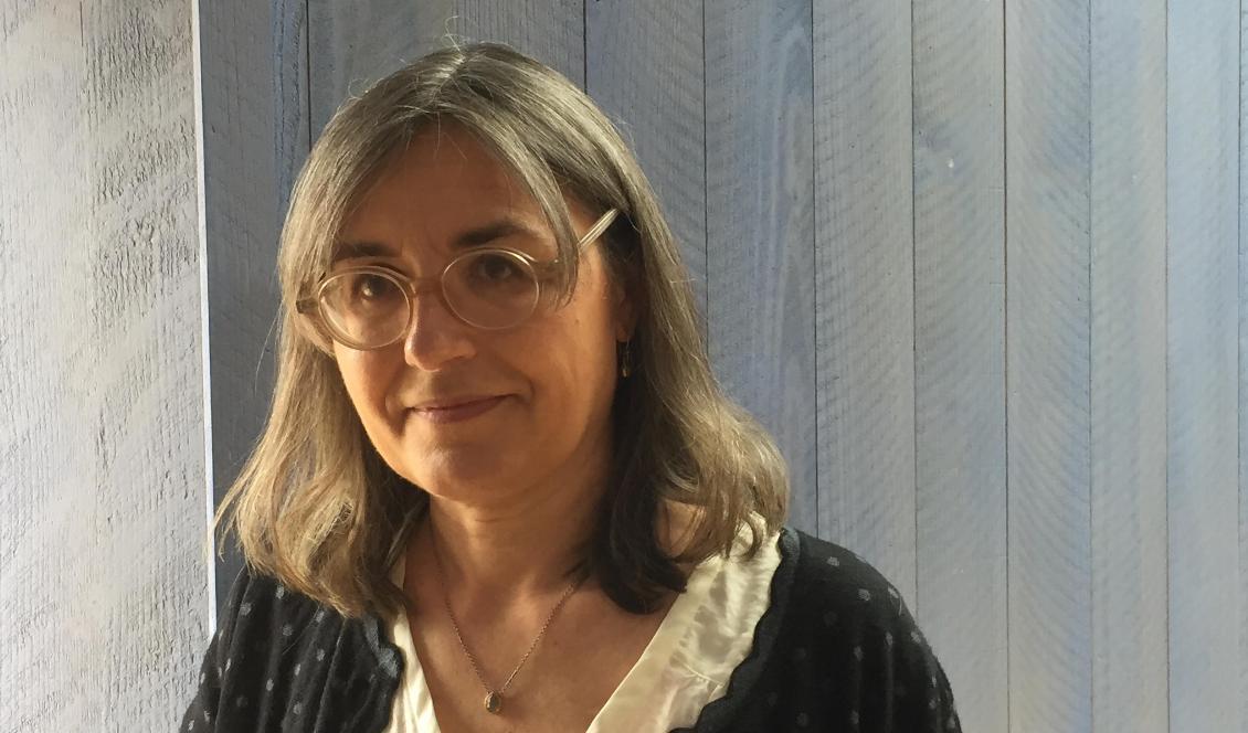 Caroline Bratt, rektor vid Waldorflärarhögskolan i Stockholm.